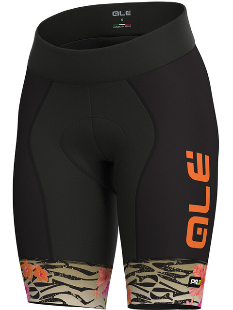 Alé Cycling Graphics PRR Savana Shorts Women white-gold-flou orange